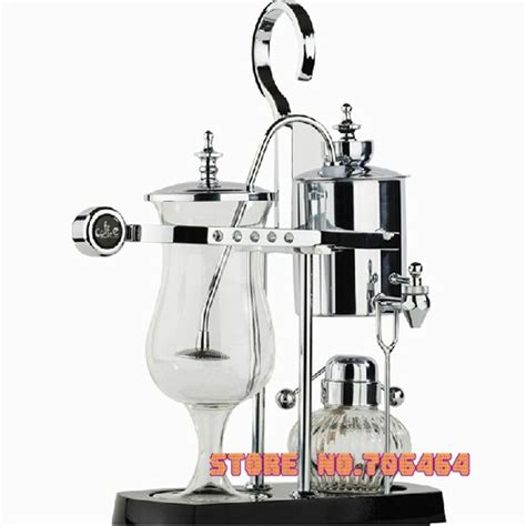 I'm looking at getting a siphon coffee maker but haven't been able to find anything n the difference between the balance and the regular siphon versions. Elegant silver Belgium royal brewer Siphon coffee machine ...
