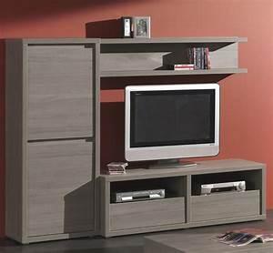 Meuble Tv Avec Etagere : meuble tele avec etagere choix d 39 lectrom nager ~ Teatrodelosmanantiales.com Idées de Décoration