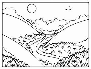 Cartoon Valley Step by Step Drawing Lesson