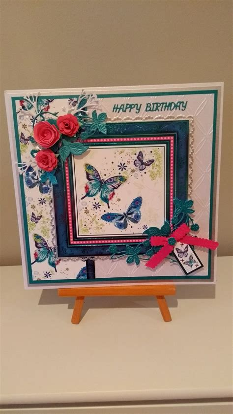hunkydory heartfelt occasions butterflies  images