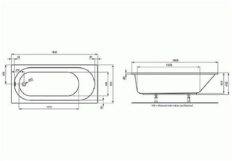 Maße Badewanne Standard by Ma 223 E Badewanne Standard Energiemakeovernop