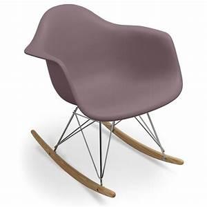 Siege A Bascule : fauteuil bascule eames id e inspirante pour la conception de la maison ~ Teatrodelosmanantiales.com Idées de Décoration
