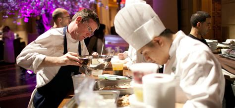 cuisine des grands chefs bold cuisine at the third edition of diner des