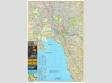 Melbourne Suburban Map UBD 362, Buy Map of Melbourne