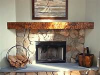 inspiring rustic fireplace mantel Photos of corner fireplaces