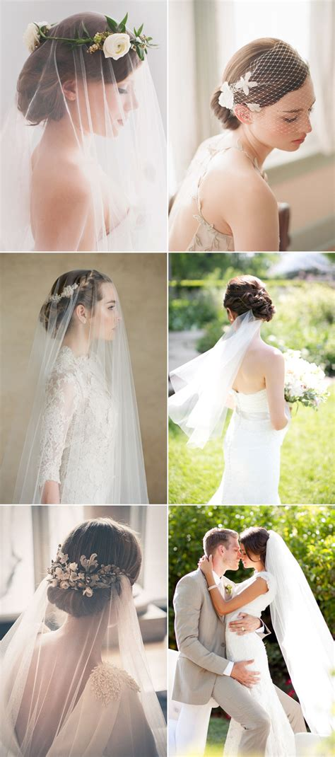 5 chic bridal hairstyles that with veils praise wedding