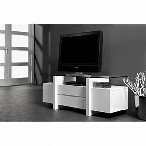 Banc Tv Design : meuble tv design laqu banc et verre tremp 10m achat vente meuble tv meuble tv design ~ Teatrodelosmanantiales.com Idées de Décoration
