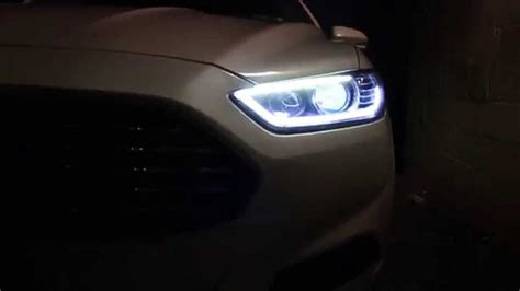 testing ford fusion 2013 retrofit headlights sequential