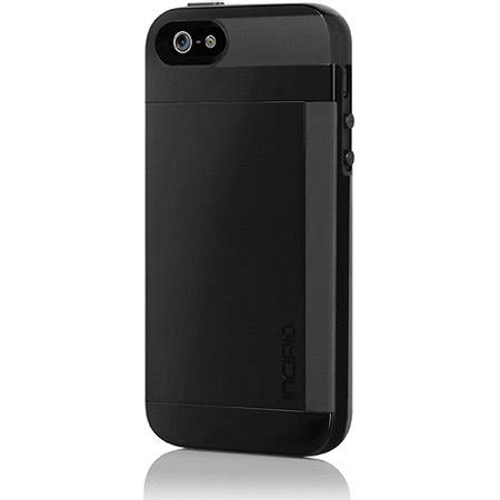 Great savings & free delivery / collection on many items. Incipio Stowaway Wallet Credit Card Hard Protective Case for iPhone 5 5S SE Cover-Black/Black ...