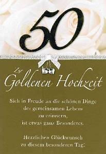Glückwunschkarten Zur Goldenen Hochzeit : gl ckwunschkarten zur goldhochzeit ~ Frokenaadalensverden.com Haus und Dekorationen