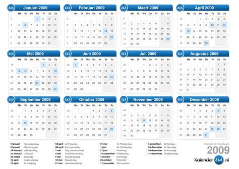 Kalender 2009