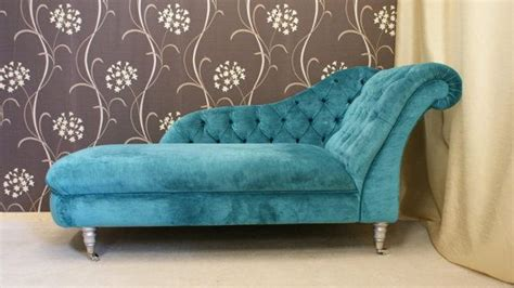 Copridivano Con Chaise Longue Shabby Chic : Shabby Chic, Chaise Longue In Romo Semper Velvet With Deep
