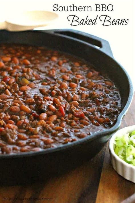 southern bbq baked beans weekend potluck