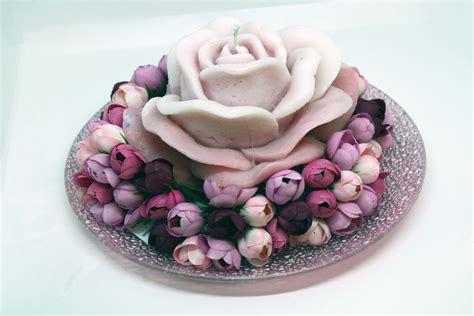 Composizione Di Candele by Composizione Rosa Candele Shop