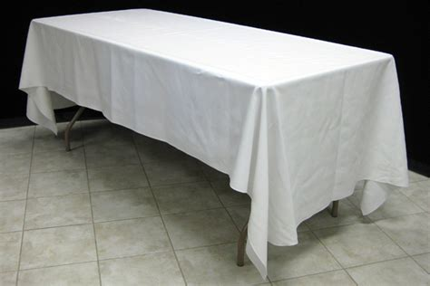 tablecloth for 8 foot table choosing the right tables linens benson tent rent