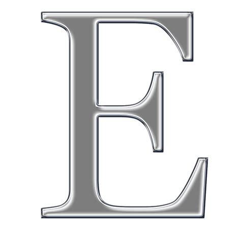 letter e b cuz i can free chrome digi scrapbook capital alphabet