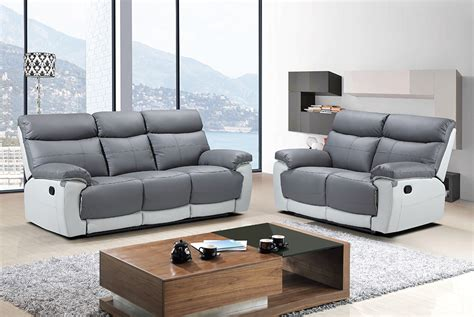 3 seater sofa with 2 recliner actions lexi 3 seater recliner sofa grey we do sofas