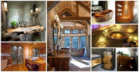 amazing wooden bathroom ideas   catch