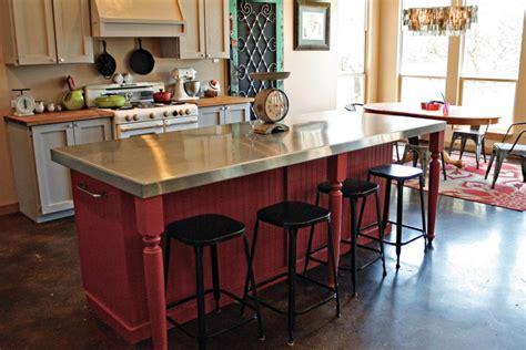 creative kitchen island 14 creative kitchen islands and carts hgtv 3021
