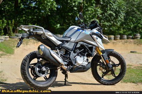 bmw g 310 gs bmw g 310 gs test review bikesrepublic