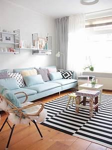 Idee Salon Scandinave : comment donner un look scandinave votre salon h ll blogzine ~ Melissatoandfro.com Idées de Décoration