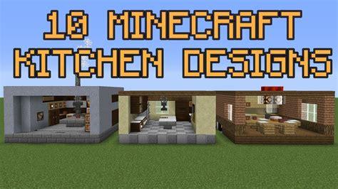Kitchen Designs Minecraft by 10 Minecraft Kitchen Designs
