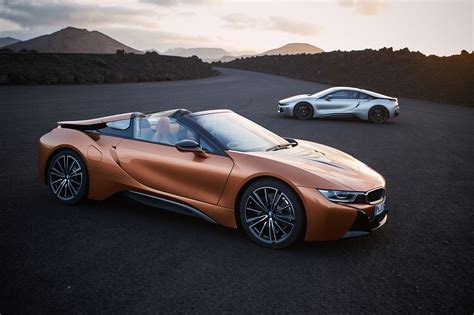 Bmw I8 Roadster Photo soft top hybrid 2018 bmw i8 roadster revealed car