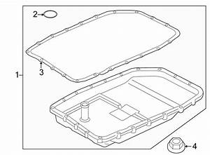 2011 Land Rover Lr4 Automatic Transmission Oil Pan Gasket