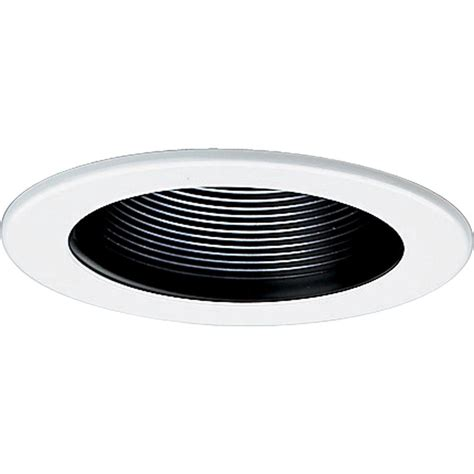 home depot recessed lighting trim halo all pro 4 in white recessed lighting baffle trim