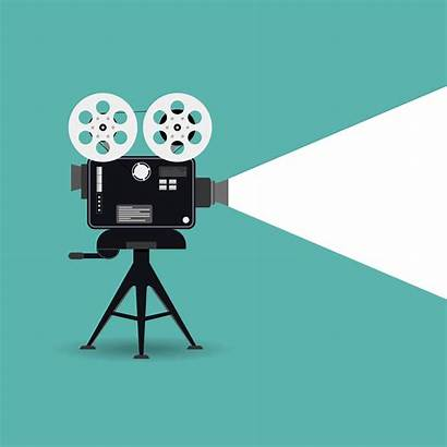 Cinema Icon Retro Film Projector Camera Cinematography