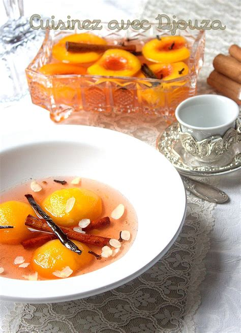 dessert pches au sirop peche poch 233 e au sirop et 233 pices recettes faciles recettes rapides de djouza