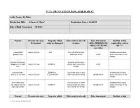 simple resume format in word for job hazard film production risk assessment form