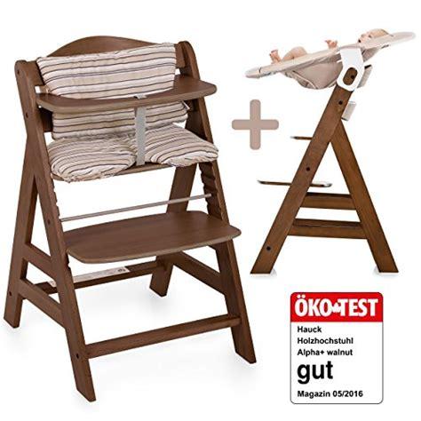 Hauck Alpha Newborn Set  Baby Holz Hochstuhl Ab Geburt