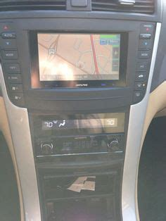images  acura tl double din  pinterest