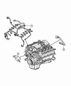 2016 Dodge Challenger Wiring  Engine