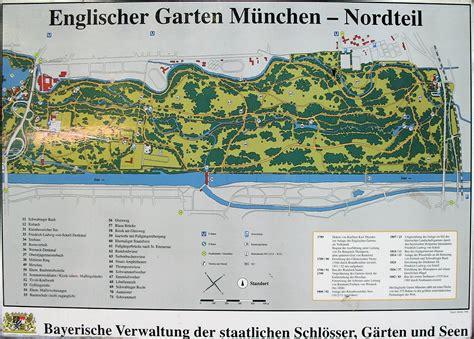 Englischer Garten München Karte