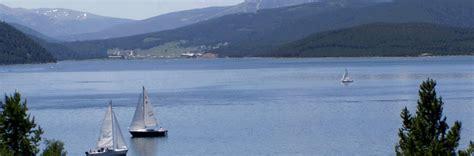 Pontoon Boats Lake Dillon by Lake Dillon Boat Rental Frisco Co Boating Marina High