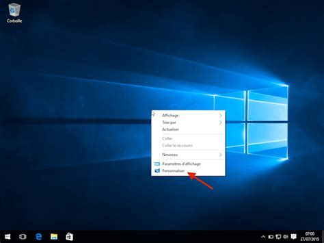 comment choisir un ordinateur de bureau comment changer le fond d 39 écran de windows 10