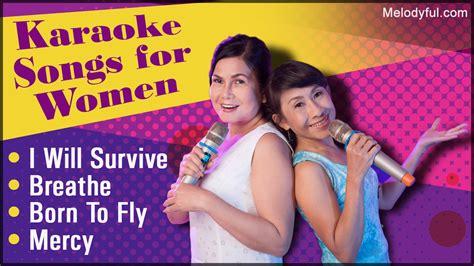 karaoke songs  women melodyful