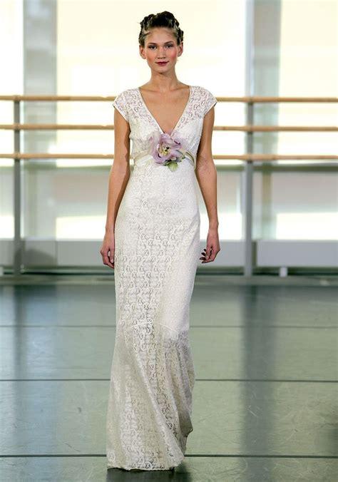Claire Pettibone Yolanda Wedding Gown Garden Wedding