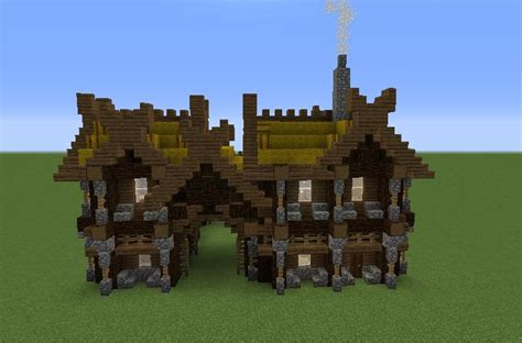 viking stables blueprints  minecraft houses castles towers   grabcraft
