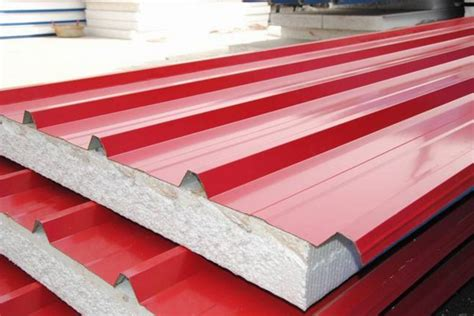 roofing material types eps roofing sandwich panel buy eps roofing sandwich