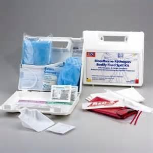23-Piece Bloodborne Pathogen Bodily Fluid Spill Kit