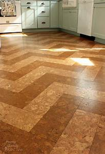 Our cork floors update report pretty handy girl for How to install floating cork flooring