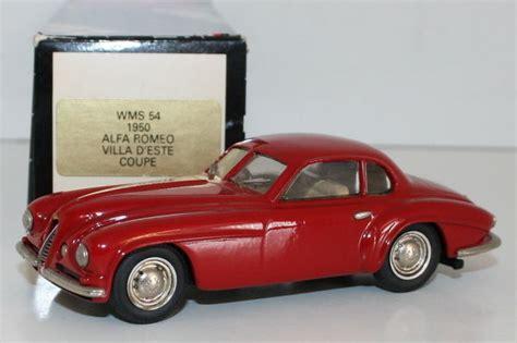 Western Models 143 Scale Wms54  1950 Alfa Romeo Villa D