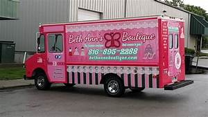 beth annes boutique 1vehicle wraps in liberty kansas city With truck lettering near me