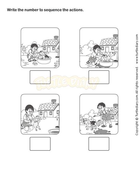 picture sequence worksheet 18 esl efl worksheets