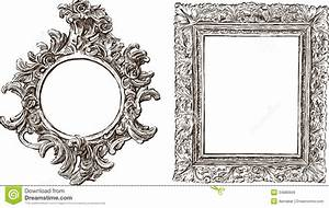 Old Ornate Frames Royalty Free Stock Images - Image: 34880699