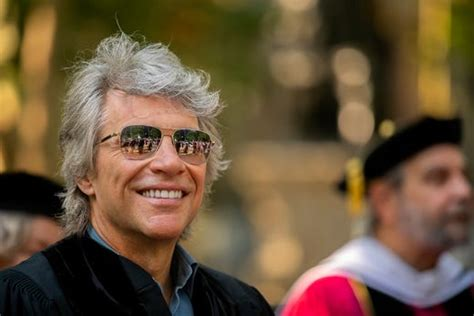 Jon Bon Jovi Receives Honorary Doctor Music Penn