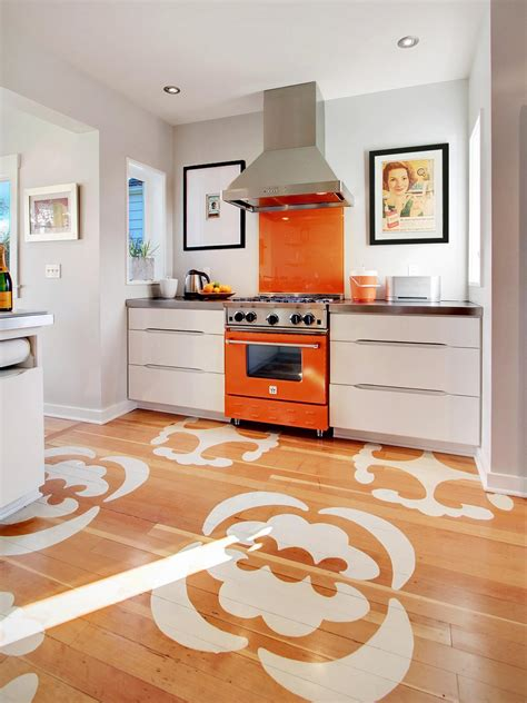 kitchen flooring options inexpensive kitchen backsplash ideas pictures from hgtv 1707